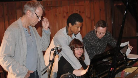 A Touch of Radiance Quintet at piano