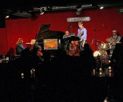 Performing at Jazz Standard NYC