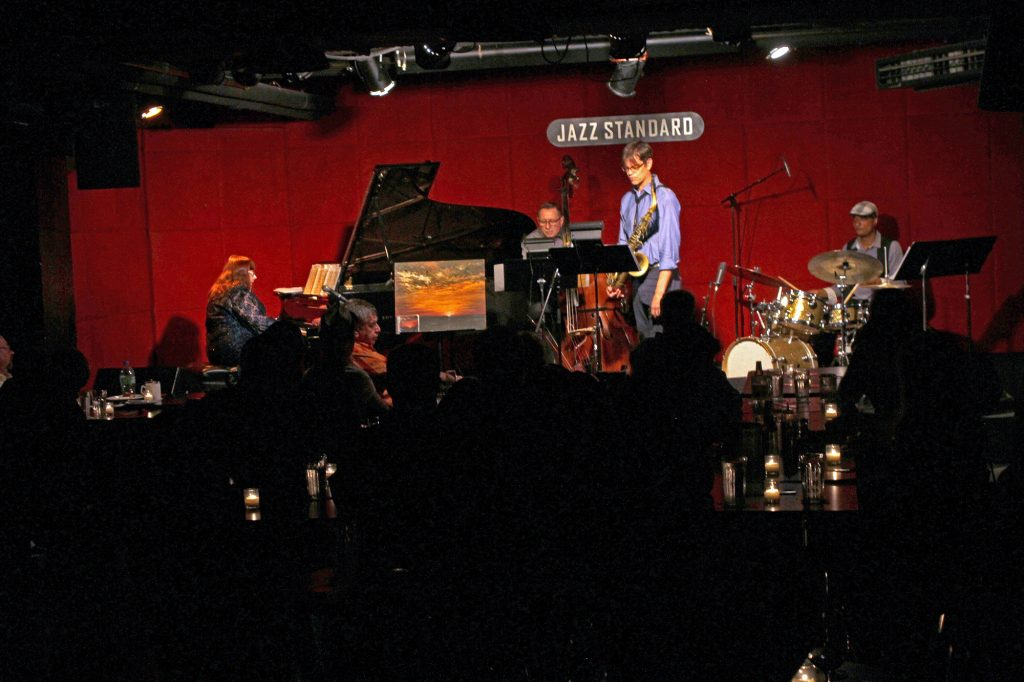 Jazz Standard Quartet on stage
