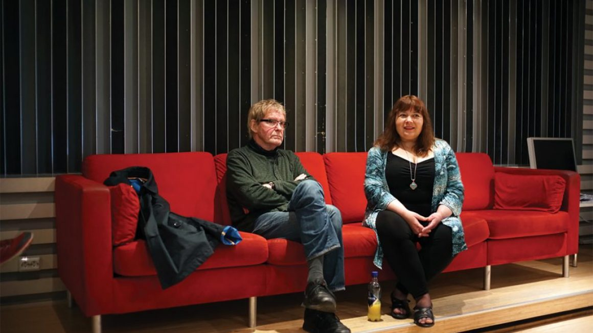 Jon and Yelena at Rainbow Control room