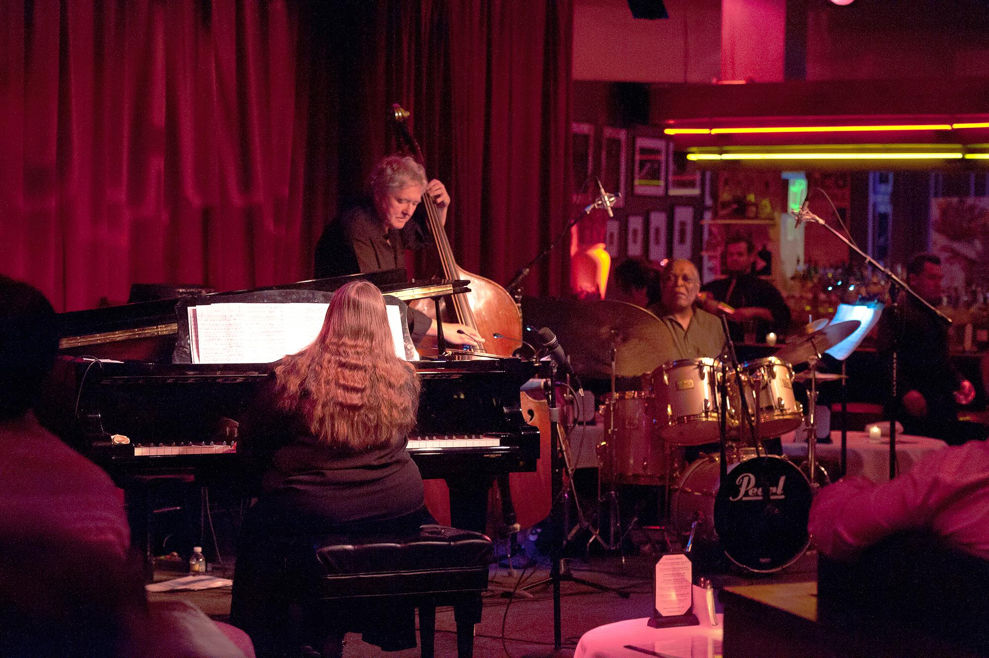 Performing at Birdland NYC