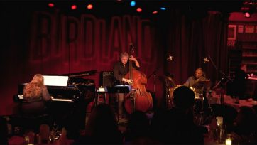Lions Trio at Birdland stage shot
