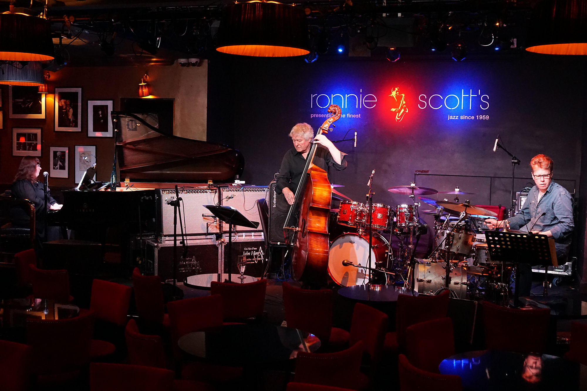 Performing at Ronnie Scott's