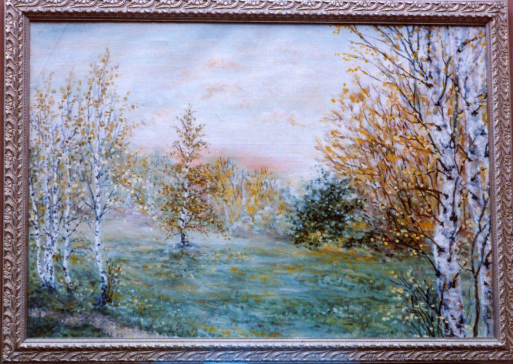 Losiniy Ostrov original painting