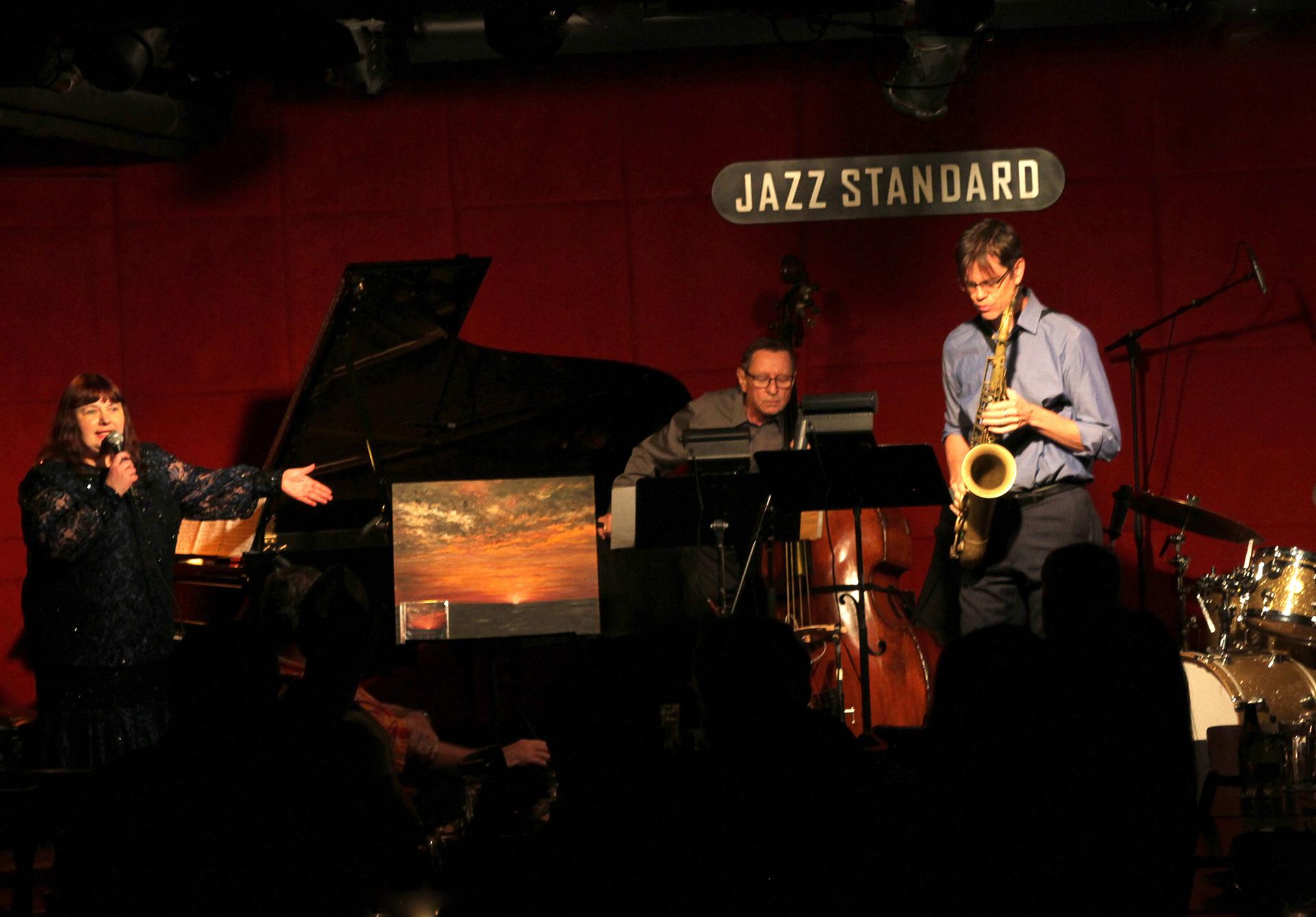 Quartet on stage Yel talks 6