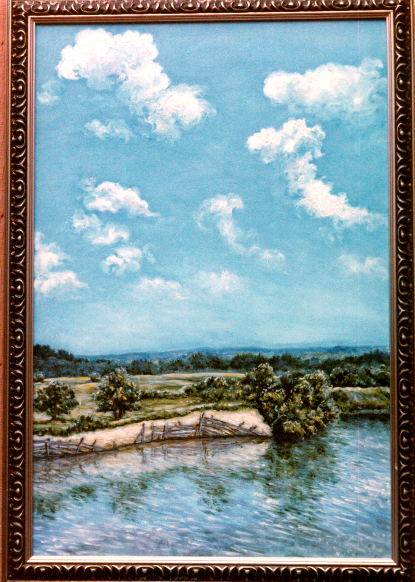 Tambov Clouds original painting