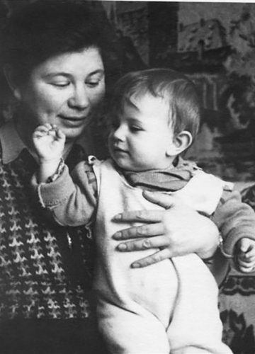 With Olga