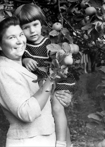With apples in Tambov