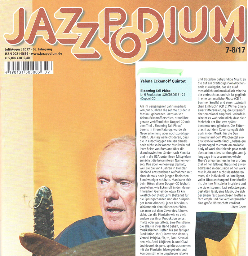 BTP review in Jazzpodium