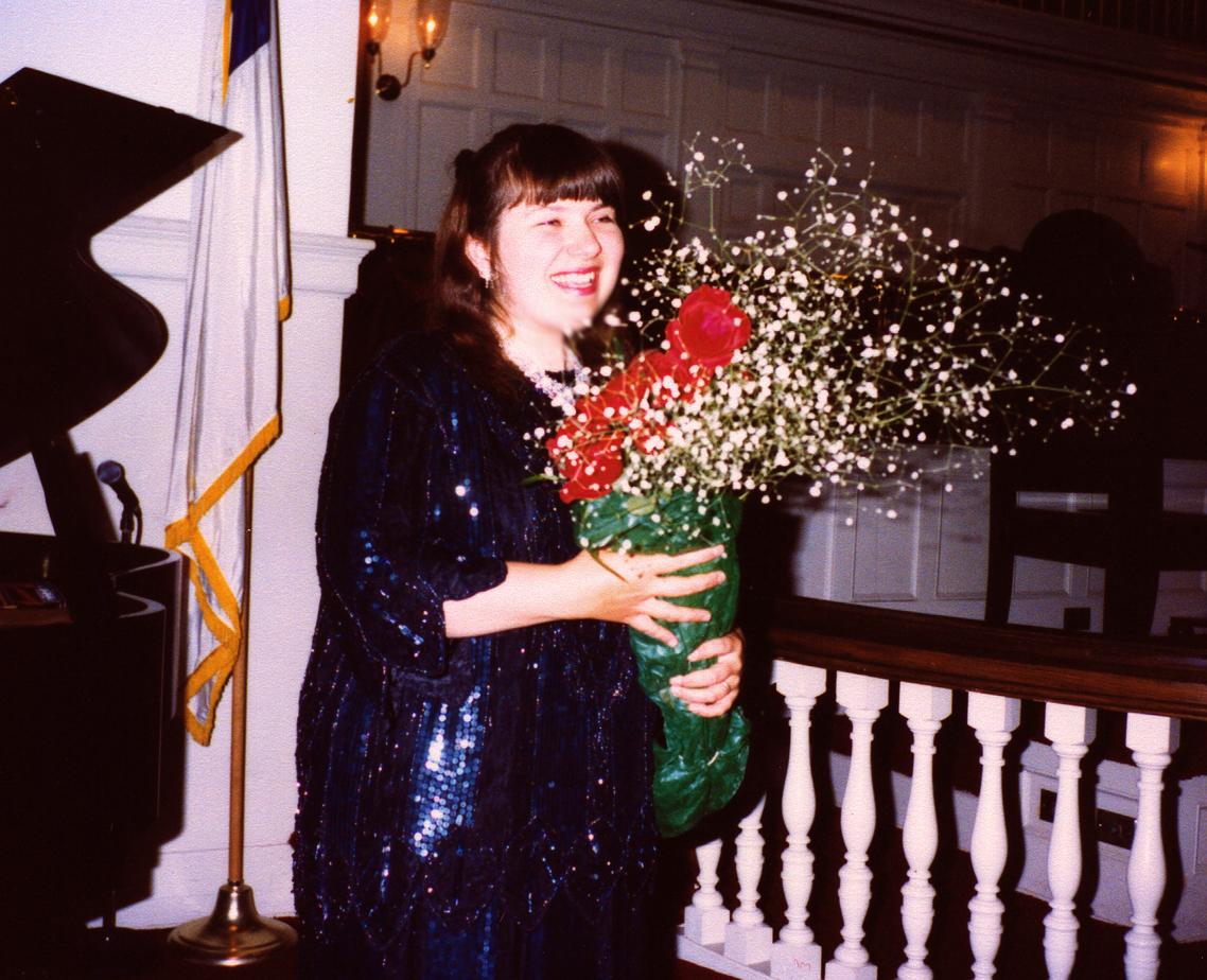 Concert 1992 Christ, flowers 2