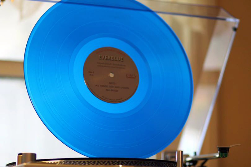 Everblue vinyl disc