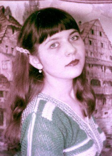Yelena, 1983, tapestry background