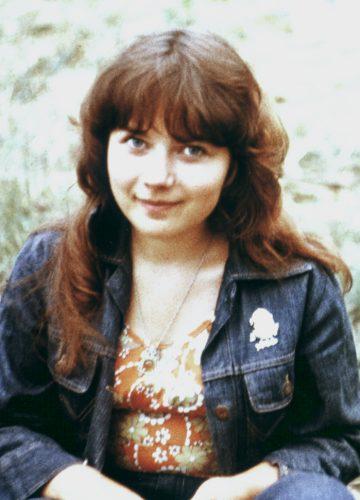 Yelena in jeans coat, 79