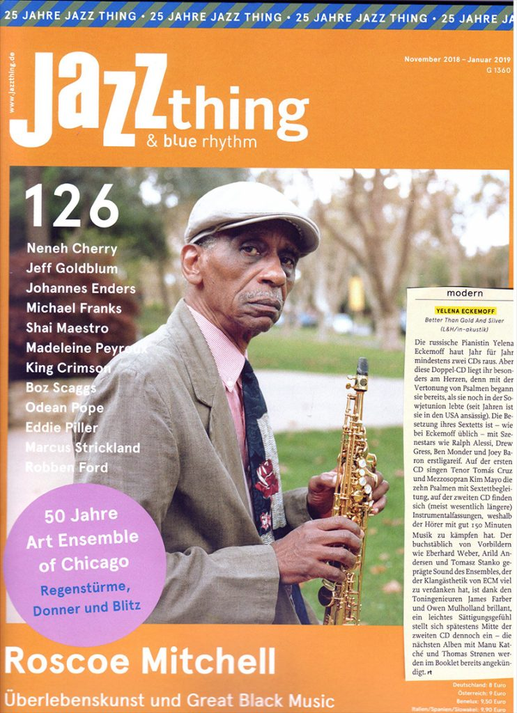 Rolf Thomas for Jazzthing