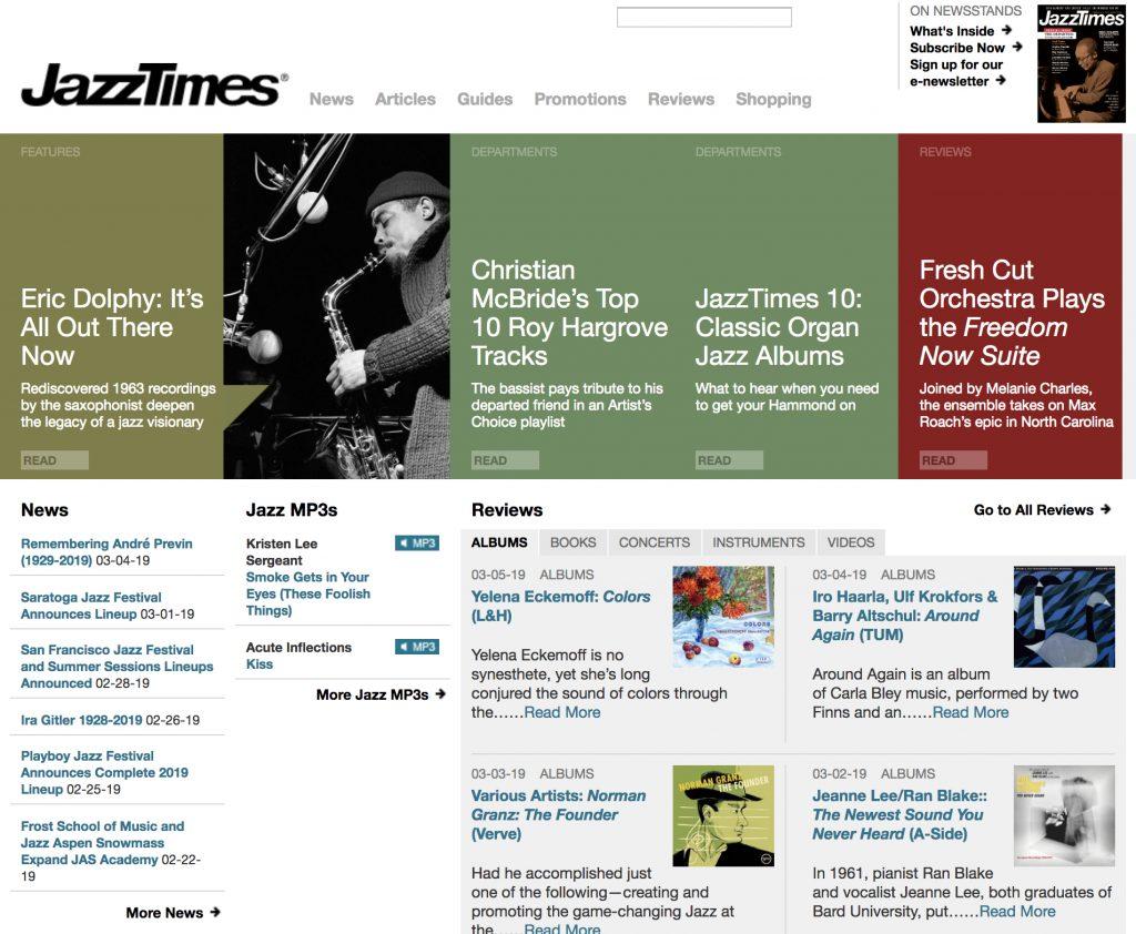 Dan Bilawsky for Jazz Times
