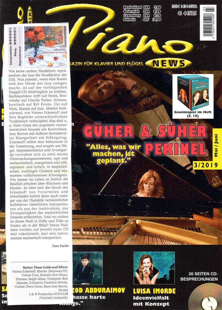 Tom Fuchs for Piano News, May/June issue